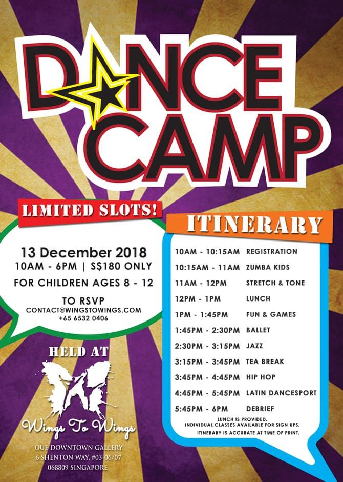 W2W DANCE CAMP Dec 2018