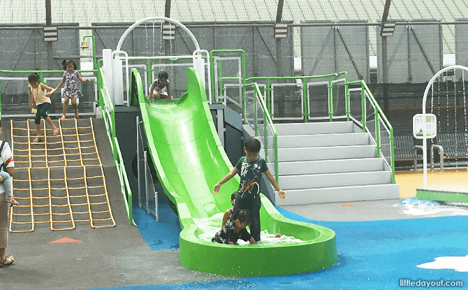 Compass One Playground Water Slide