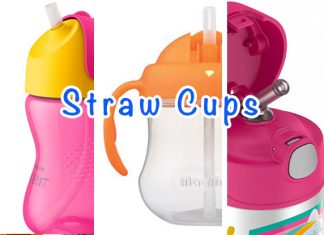 We Tried Three: Straw Cups For Baby