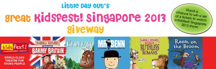 Kidsfest! Singapore 2013 Giveaway