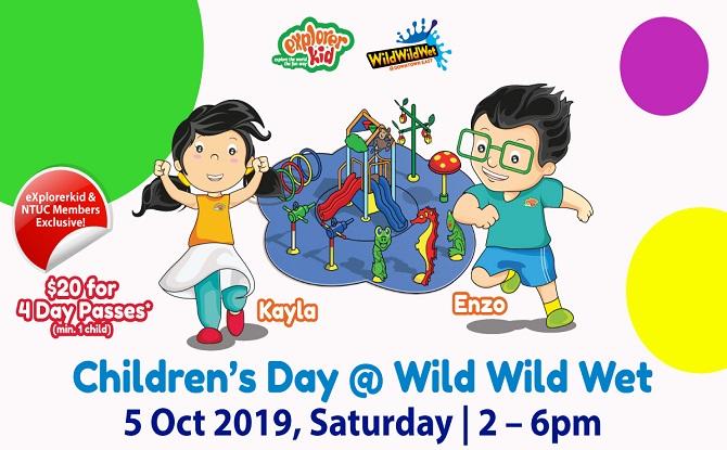 eXplorerkid Children's Day @ Wild Wild Wet