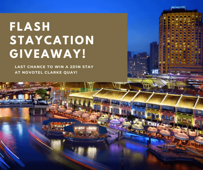 FLASH GIVEAWAY: Staycation At Novotel Clarke Quay