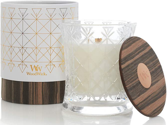 WoodWick Amber Scented Candle
