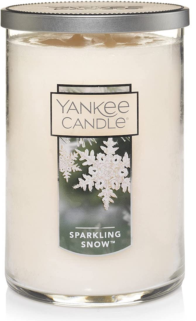 Yankee Candle Large Tumbler Candle in Sparkling Snow