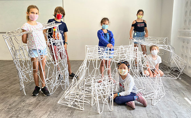 DesignTinkers Onsite & Online Holiday Camps: Art, Design & Architecture