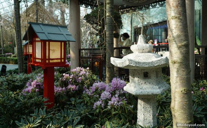 Pavilion at Sakura Matsuri 2019