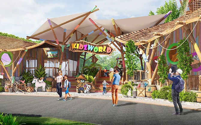 Singapore Zoo To Have Revamped Rainforest Kidzworld In 2023