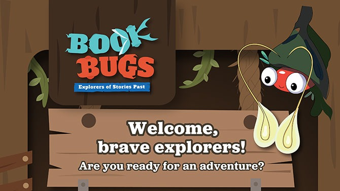Explorers of Stories Past - NLB Book Bugs