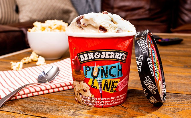 Ben & Jerry's Has A New Netflix-inpsired Flavour, Punch Line