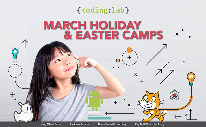 March Holiday & Easter Camp by Coding Lab