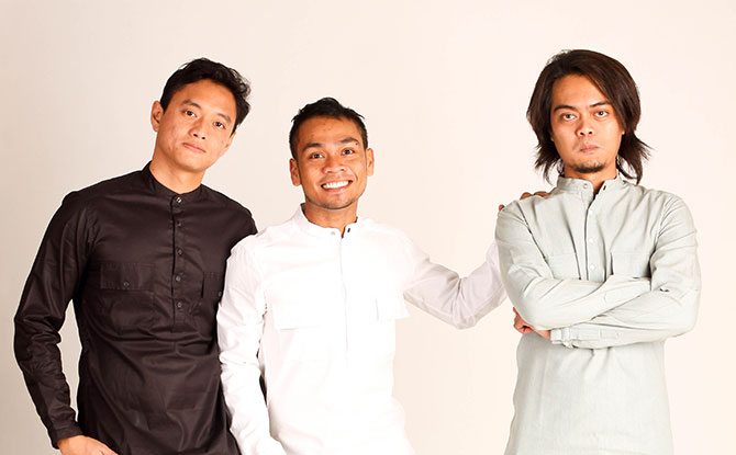 Orkestar Trio, who play traditional Malay instruments with a modern interpretation, will provide the music for The Scourge of the Swordfish.