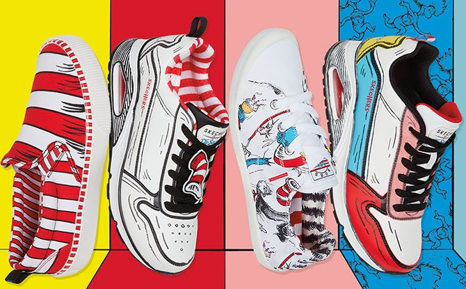 Skechers X Dr Seuss Collection: Step Out With The Cat In The Hat & Other Beloved Characters