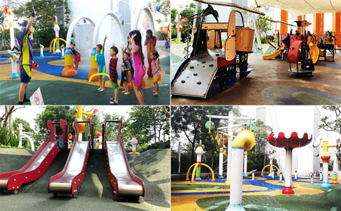 Have fun at the Sembawang Shopping Centre Playground!