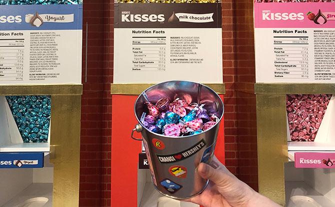 Bucket of Happiness - Hershey's Amazing Chocolate Machine at Changi Airport
