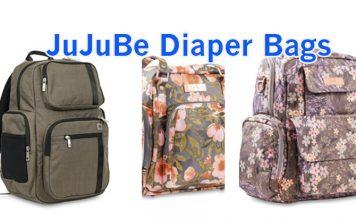 We Tried Three: JuJuBe Diaper Bags