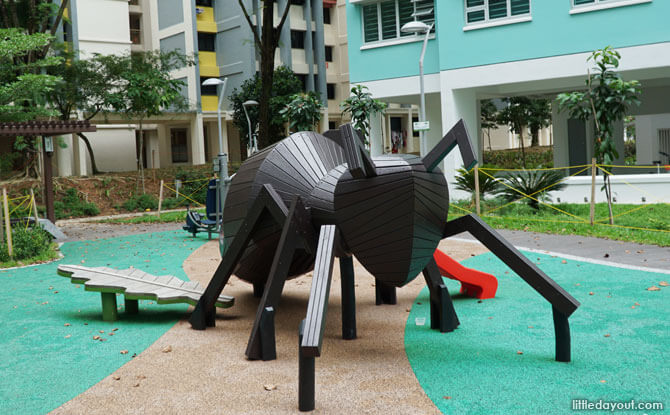 Ant playground in Woodlands