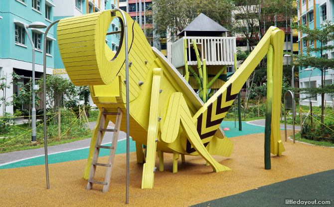 The Ant and the Grasshopper Playground: A Unique Woodlands Playground
