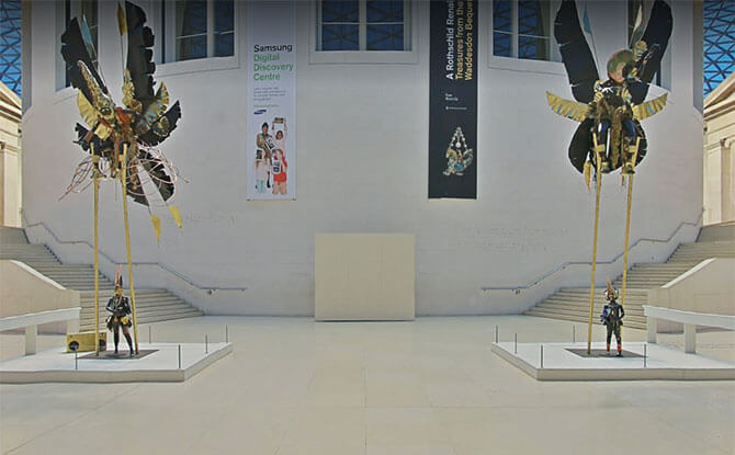 British Museum Street View