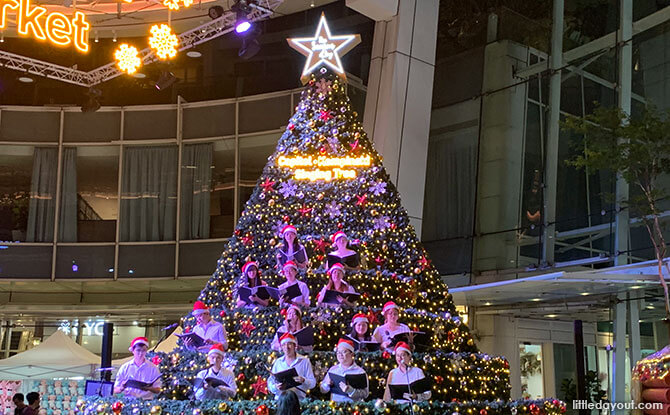 Capitol Kempinski Christmas Market & Singing Tree