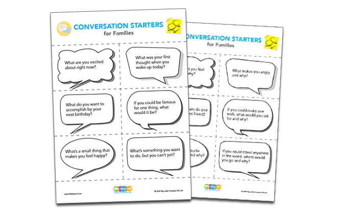 Ways to Initiate Awesome Conversations with Kids