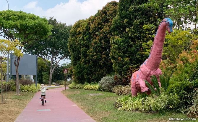 Go Cycling to See Dinosaurs