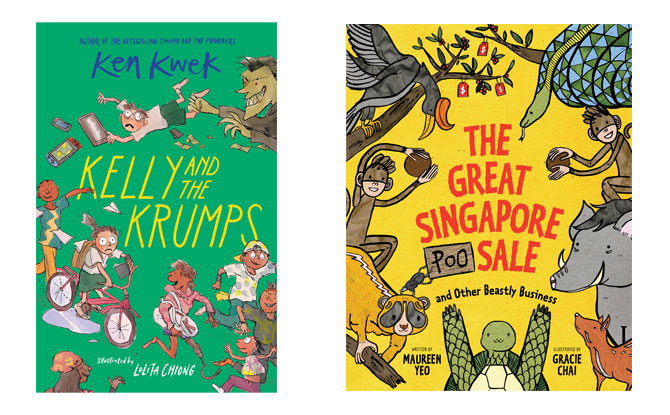 Singapore children's books