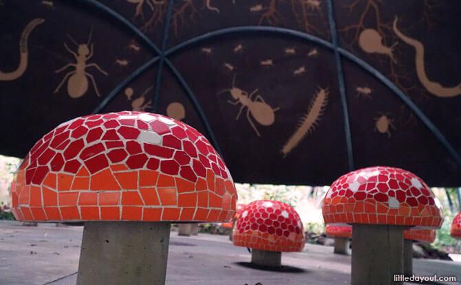 Mushroom Hut, Gardens by the Bay