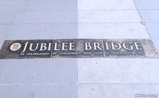 Jubilee Bridge plaque