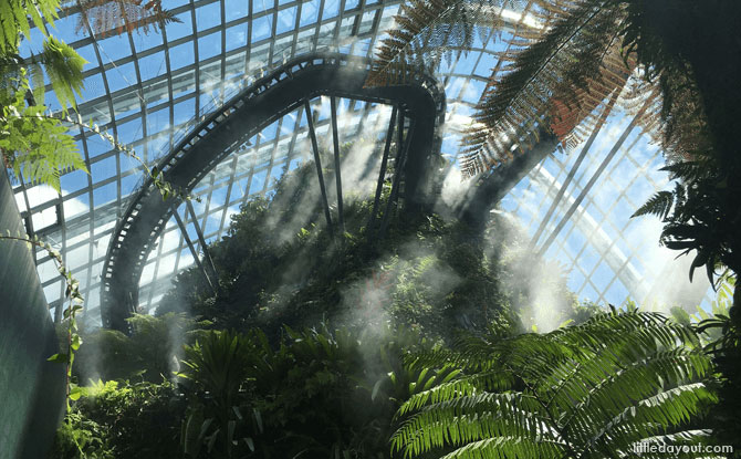 Gardens By The Bay's Cloud Forest Reopens To Public On 6 August 2020
