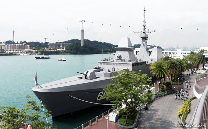 Navy at Vivo 2019
