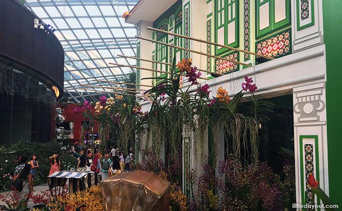 Orchid Extravaganza at Gardens by the Bay: Peranakan Flair