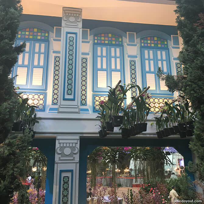 Peranakan shophouses, Gardens by the Bay