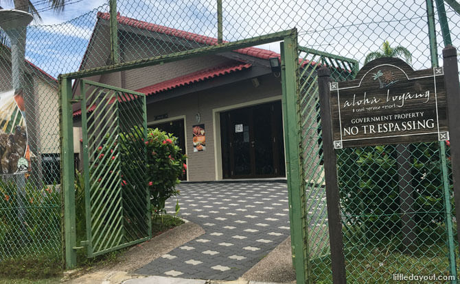 Access to Aloha Loyang for Bike Rental