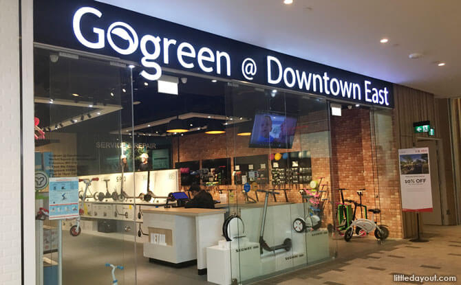 Gogreen @ Downtown East