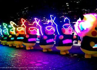 Sentosa Island Lights 2108: Light Installations And Pikachu Parades For The Holidays