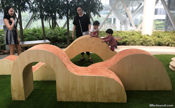 Children's play area, Jewel Changi Airport