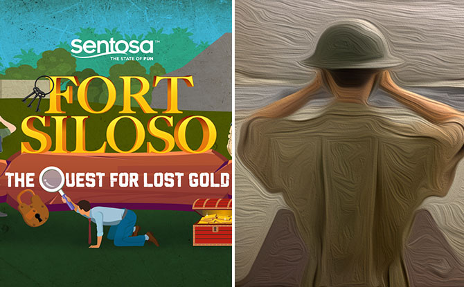 Play Virtual Fort Siloso Escape Room Game, The Quest For Lost Gold, From 14 Dec to 10 Jan And Win Prizes