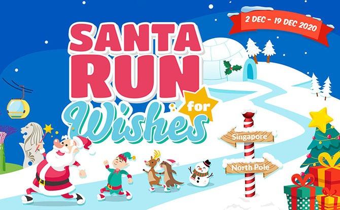 Virtual Santa Run For Wishes 2020