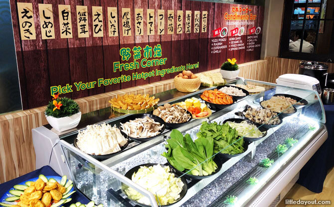 Shabu Shabu Buffet in Singapore