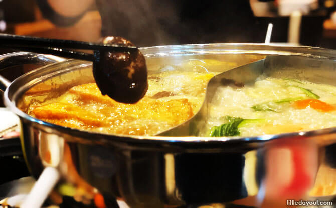 Curry shabu shabu
