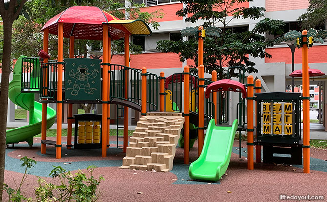 Block 227, Simei Street 4 Playground