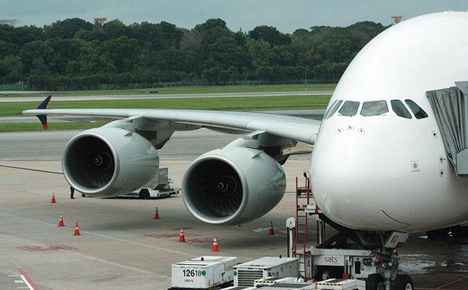 Restaurant A380 @ Changi