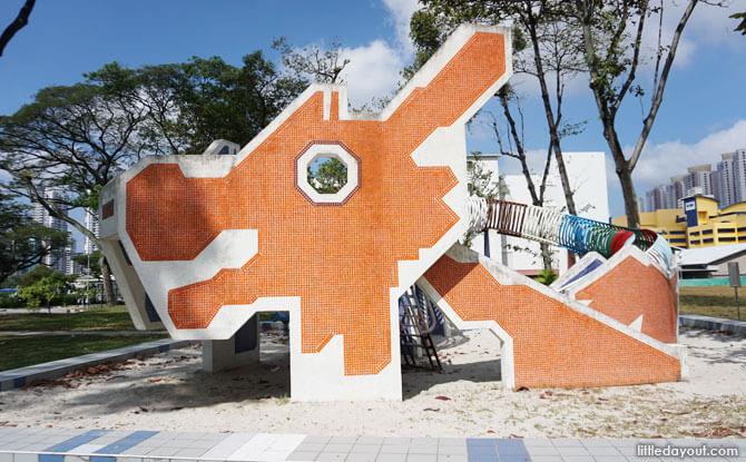 Heritage playground - Dragon Playground at Lorong 6 Toa Payoh