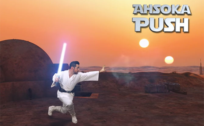 Star Wars Workouts: Get Fit With The Force