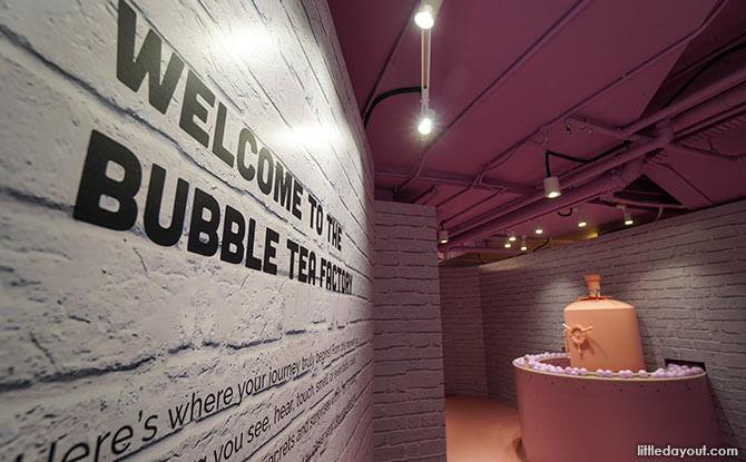 Visit the Bubble Tea Factory SG