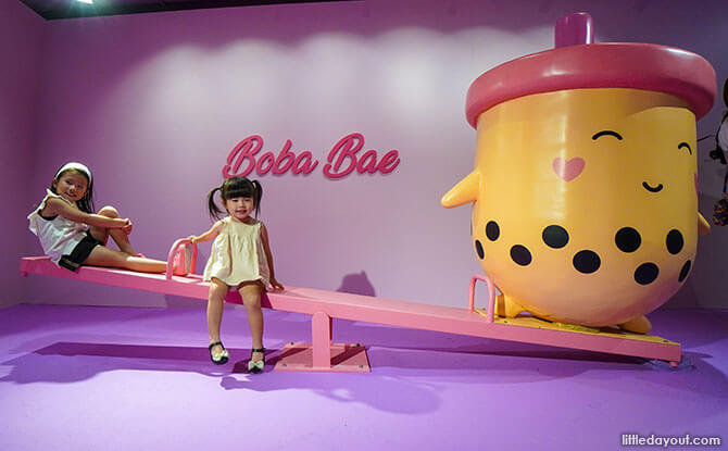 Go On An Giant Boba Adventure At The Bubble Tea Factory