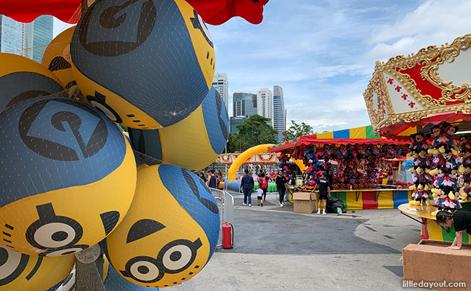 Uncle Ringo Carnival 2019 at Marina Bay - next to The Great Circus of Europe