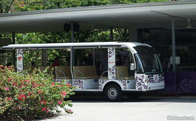 Shuttle Service at Bayfront Plaza