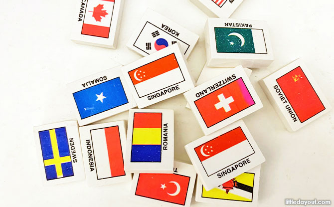 What you need to play Flag Erasers