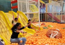 September 2019 Family Fun at Changi Airport Terminal 3's Mala-Flavoured Playground, China, Lit! Exhibition & Family Gaming Lounge